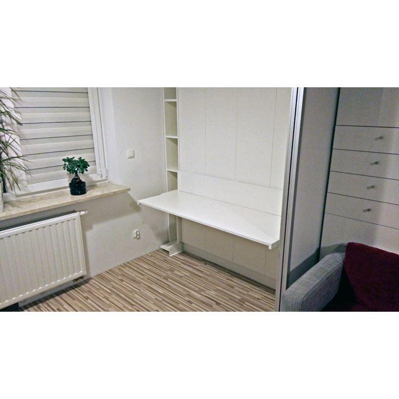 ko z biurkiem chowane w szafie. Black Bedroom Furniture Sets. Home Design Ideas