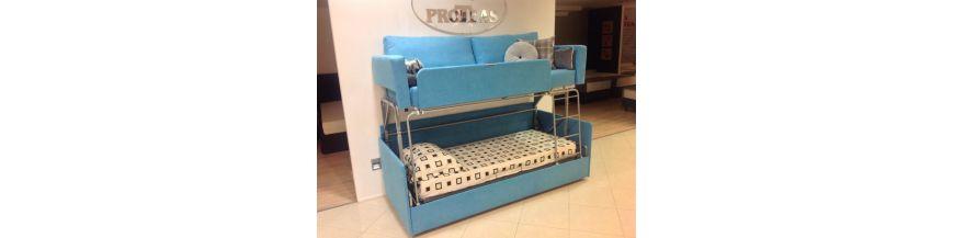 Proteas - sofa piętrowa
