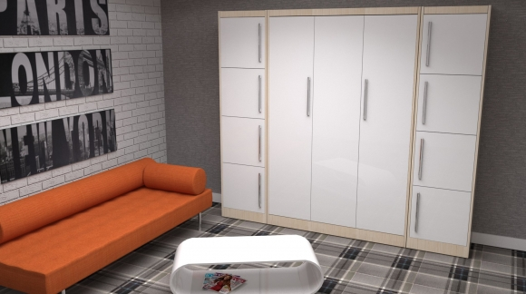 5 ważnych decyzji przy wyborze łóżka w szafie