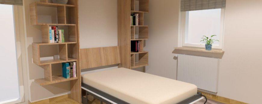 Łóżko w szafie - Za mało miejsca? Jest go więcej, niż myślisz