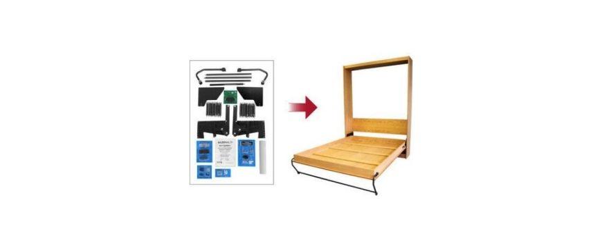 """Zestaw do budowy łóżka w szafie """"Zrób to sam"""" - opis"""